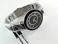 Часы женские Alberto Kavalli серебристый корпус, черный ободок, фото 1