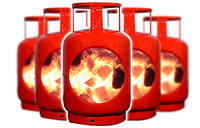 Газы сжиженные в баллонах (СУГ)