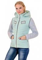 Женская и подростковая демисезонная куртка-жилетка Элли, весна 2017, разные цвета, р.44-50