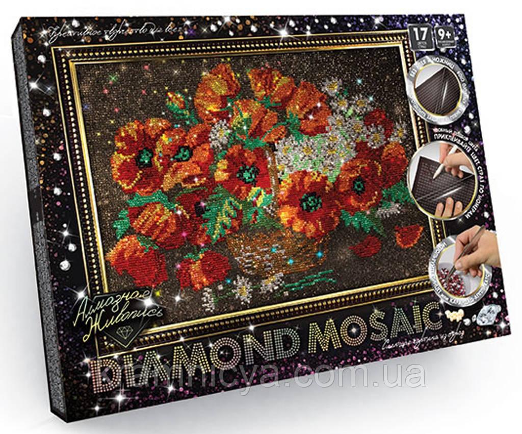 Алмазная живопись большая, Маки (DM-01-06), фото 1