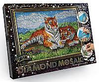 Алмазная живопись большая, Тигры (DM-01-07), фото 1