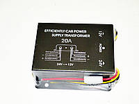 Компактный преобразователь напряжения 24-12В. Номинальный ток 15А. Отличное качество. Купить. Код: КДН1531