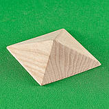 Пирамидка мебельная. Резьба по дереву.  Код Р41, фото 4