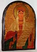 """Икона под старину """"Александра Римская, святая мученица"""" арка"""