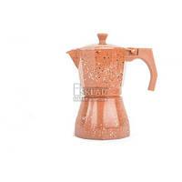 Кофеварка 6 порционная коричневая Мрамор 613605 ANTE Nh