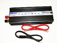 Отличный преобразователь авто инвертор 12V-220V 2000W. Хорошее качество. Практичный дизайн. Код: КДН1533