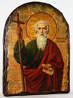 """Икона под старину """"Андрей святой апостол"""" арка"""