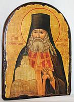 "Икона под старину ""Арсений святой"" арка"