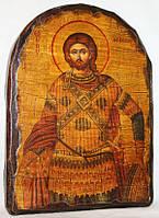 """Икона под старину """"Артемий святой"""" арка"""