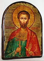 "Икона под старину ""Богдан (Феодот) святой"" арка"