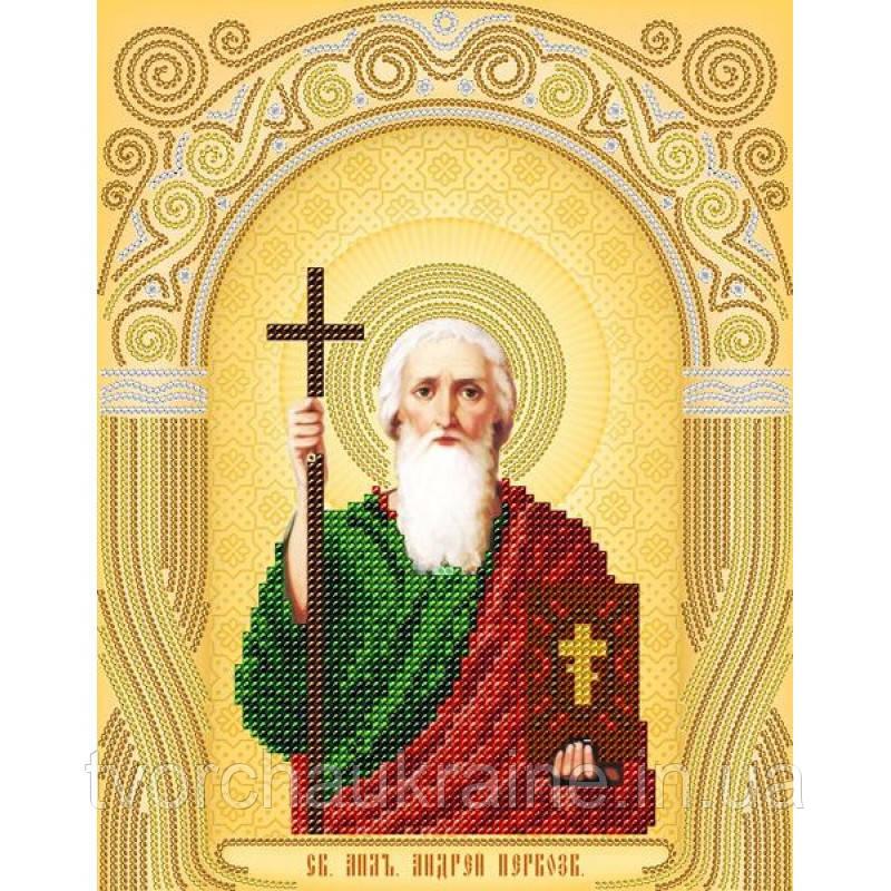 Схема на ткани для вышивания бисером Св. Апостол Андрей Первозванный