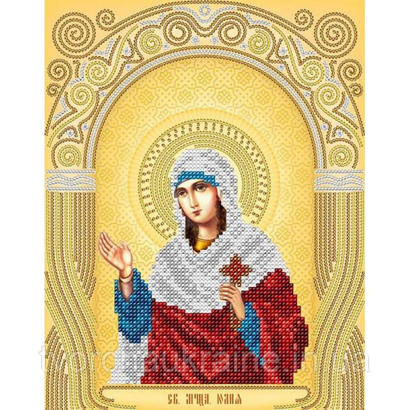 Схема на ткани для вышивания бисером Св. Мученица Юлия