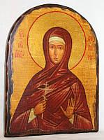 """Икона под старину """"Варвара святая великомученица"""" арка"""