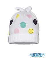 Оригинальная весенняя шапочка для девочки, BARBARAS (Польша)