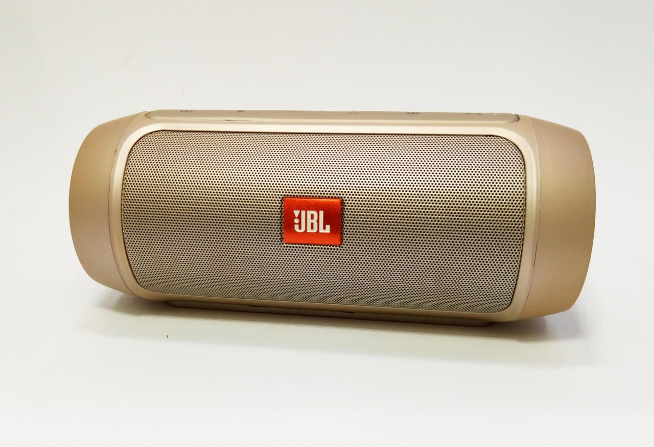Колонка портативная, акустика JBL Charge 2+ Gold - Smartoff в Харькове