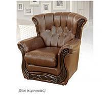"Кресло ""Европа"" 110х110х110 см. Диего коричневый"