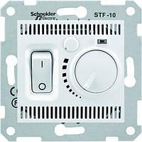 Терморегулятор ТЕПЛОГО ПОЛА, цвет белый/слоновая кость , серия Sedna, Schneider SDN6000321