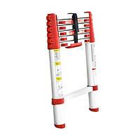 Лестница алюминиевая телескопическая 6 ступ INTERTOOL LT-3020