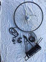 Электро набор дя велосипеда ansann 120swx 36v 250wt бу