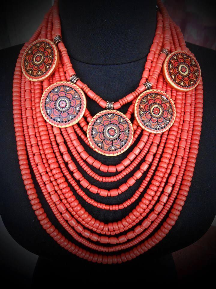 Керамическое ожерелье - ФолкМаркет в Луцке