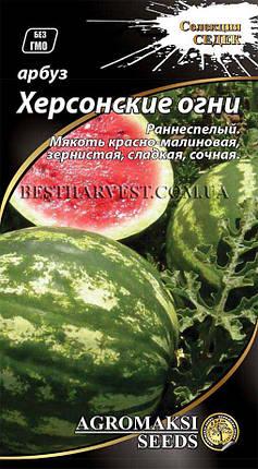 Семена арбуза «Херсонские огни» 2 г, фото 2