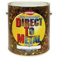 Черный матовый - алкидная эмаль по металлу Direct To Metal Enamel (США) 3,78 л.