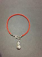 Браслет красная нить оберег от сглаза с талисманом Тыква горлянка У-Лоу