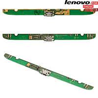 Шлейф для Lenovo A5000, коннектора зарядки, с компонентами, плата зарядки (оригинальный)