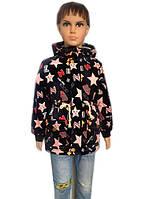 Куртка детская с принтом звезд, фото 1