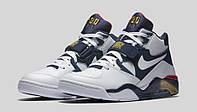 Кроссовки мужские Nike air force 180 blue-white. найк аир форс, магазин обуви