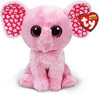 Мягкая игрушка Слоненок Sugar Beanie Boo`s TY 25см (37089)