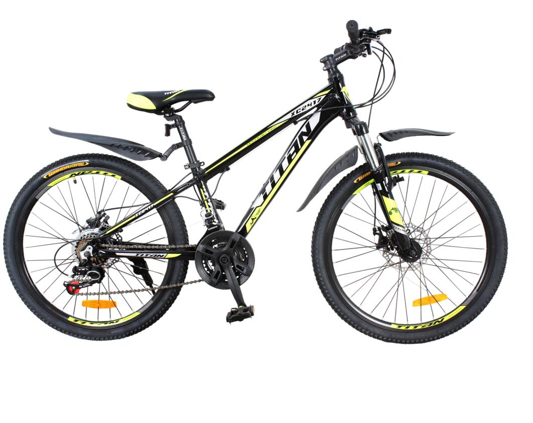 """Подростковый велосипед Titan XC2417 24"""" 2017"""