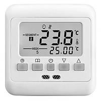 Мощный цифровой терморегулятор  для теплого пола с программированием на неделю Termo+ A008 30A.  Код: КГ562