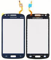 Сенсор (тачскрин) Samsung I8260 Galaxy Core, I8262 Galaxy Core синий