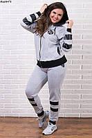 Спортивный костюм трикотаж + вставки кожа № 476 н.м