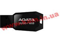 USB накопитель A-Data UV100 16GB (AUV100-16G-RBK)