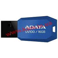 USB накопитель A-Data UV100 16Gb (AUV100-16G-RBL)