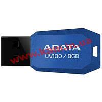 USB накопитель A-Data UV100 8Gb (AUV100-8G-RBL)