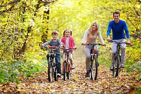 Взрослый велосипед с размером колес 24-29 дюйма - идеальный вариант для всей семьи