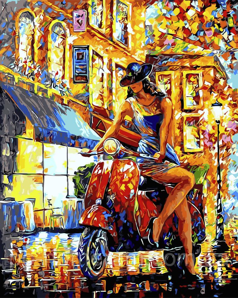 Картина-раскраска DIY Итальянский стиль (VP657) 40 х 50 ...
