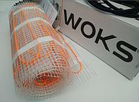 Теплый пол электрический-Нагревательный мат WoksMat 160  1.5 m2