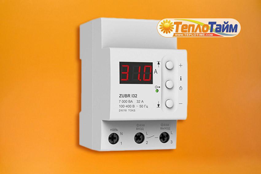 Реле контроля тока ZUBR RET И32