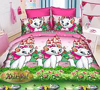 Детский комплект постельного белья 3Д полуторный, ранфорс 100% хлопок. (арт.6856)