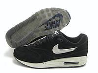 Кроссовки мужские Nike air max deluxe suede black-white . найк делюкс, магазин обуви