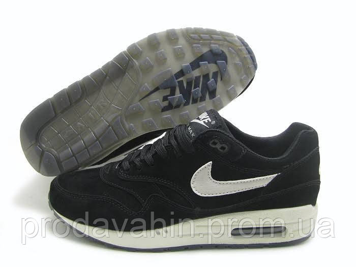 1cd83cf0 Кроссовки мужские Nike air max deluxe suede black-white . найк делюкс,  магазин обуви, цена 1 781,64 грн., купить в Киеве — Prom.ua (ID#499038188)