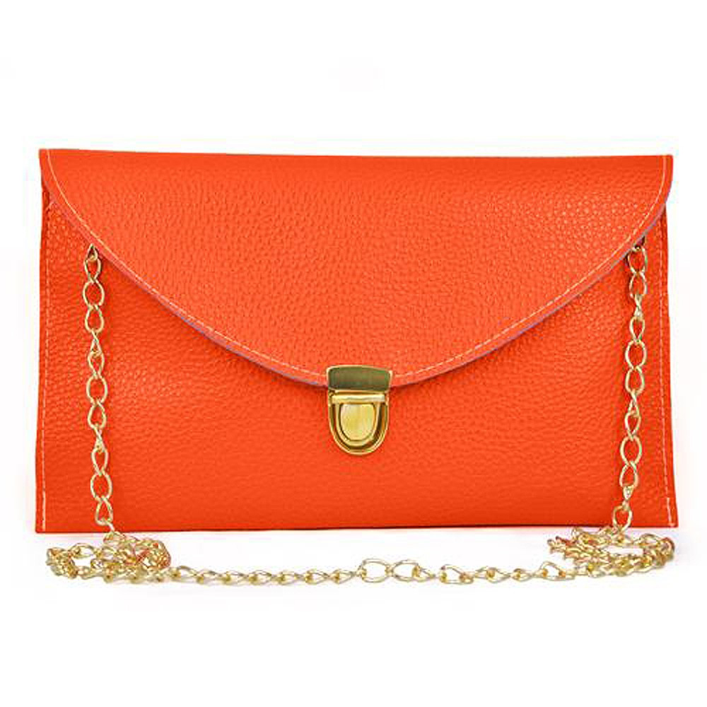 Клатч конверт сумочка Vega orange