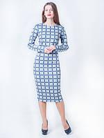 Стильное приталенное платье-футляр