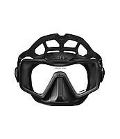 Маска Omer Apnea Mask черная силиконовая (MA0400B)