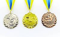 """Медаль на ленте """"Лавр-щит""""  5 см, 25 г"""