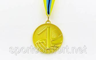 Медаль на стрічці Furore 5 см (1, 2, 3 місце)